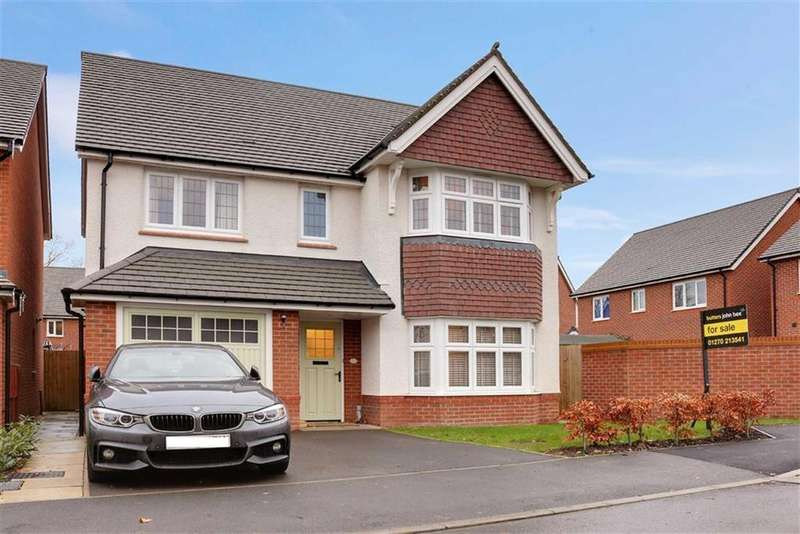 4 Bedrooms Detached House for sale in Norbreck Avenue, Crewe