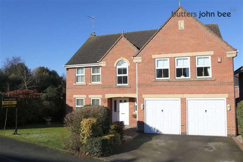 5 Bedrooms Detached House for sale in Spode Close, Stone, Staffordshire
