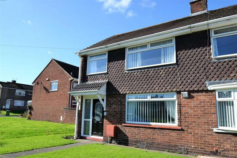 3 Bedrooms Semi Detached House for rent in St. Davids Close, Spennymoor