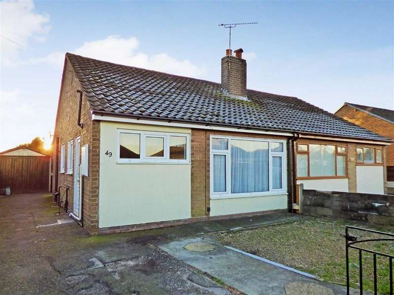 2 Bedrooms Semi Detached Bungalow for sale in Lichfield Road, Talke, Stoke-on-Trent