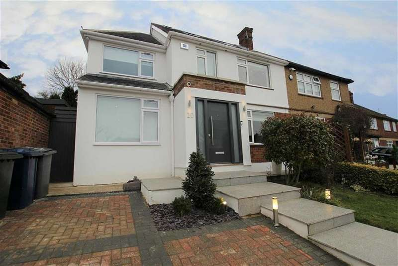 4 Bedrooms Semi Detached House for sale in The Reddings, Mill Hill, London