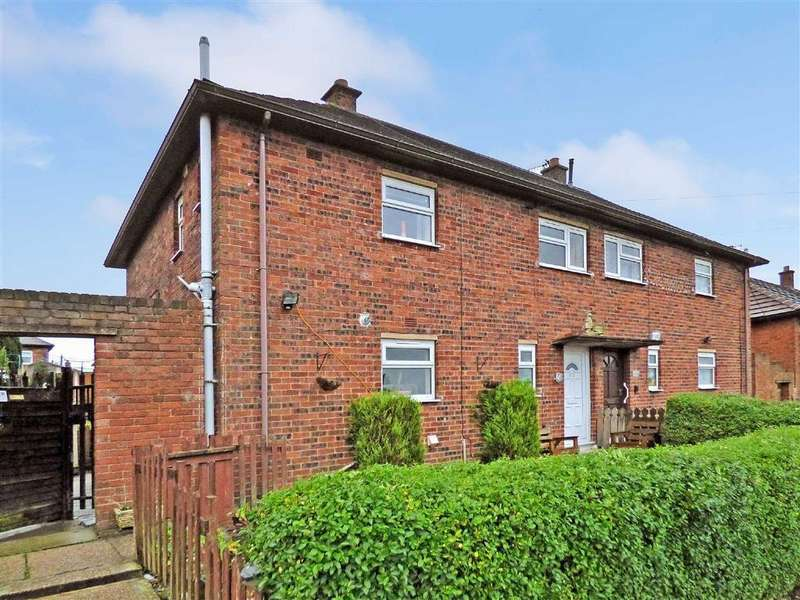 2 Bedrooms Semi Detached House for sale in Aylesbury Road, Bentilee, Stoke-on-Trent