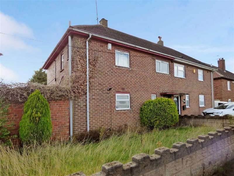 2 Bedrooms Semi Detached House for sale in Norwich Road, Bentilee, Stoke-on-Trent
