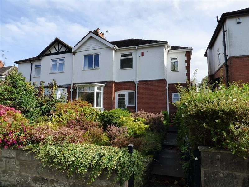 4 Bedrooms Semi Detached House for sale in Myott Avenue, Westlands, Newcastle-under-Lyme
