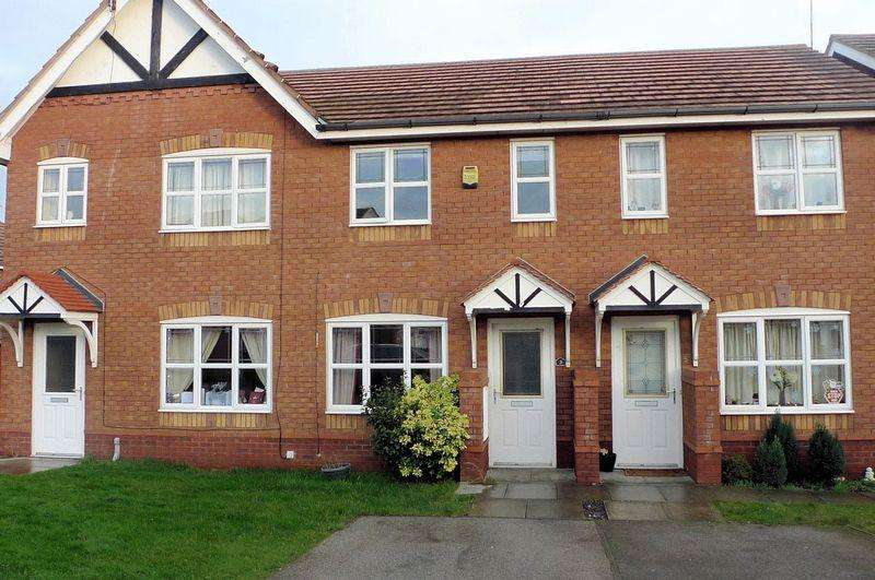 2 Bedrooms Terraced House for sale in 3 Ffordd Cae Felin, Prestatyn