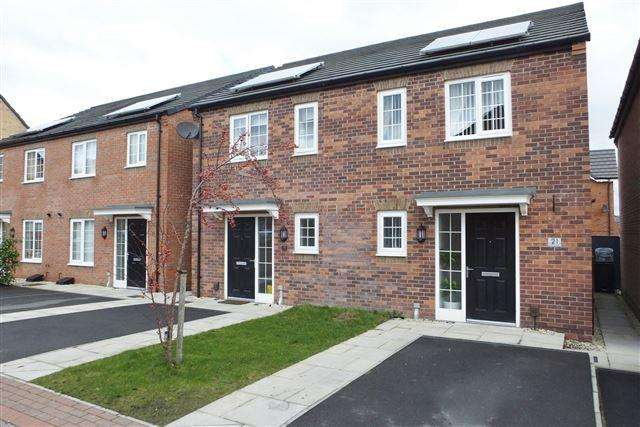 2 Bedrooms Semi Detached House for sale in Bakewell Gardens, Waverley, S60 8AG