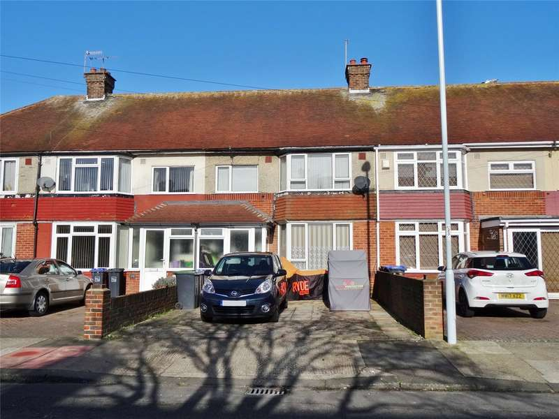 3 Bedrooms Terraced House for sale in King Edward Avenue, Broadwater, Worthing, BN14