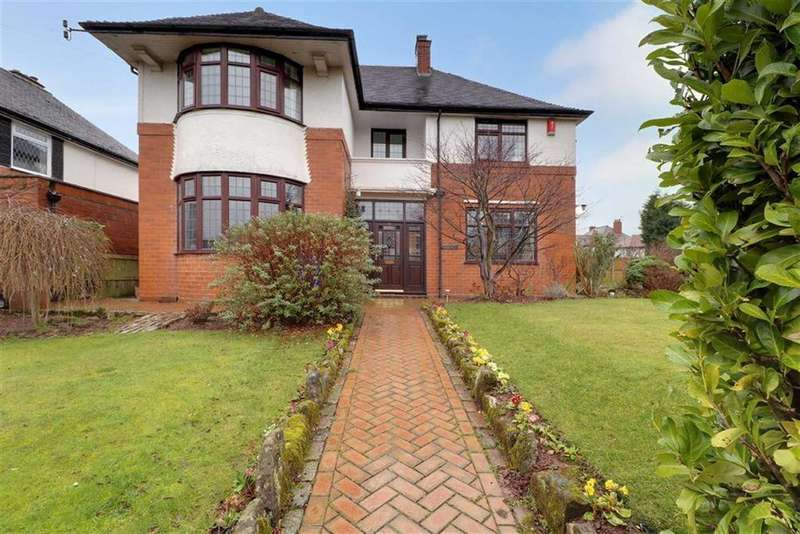 4 Bedrooms Detached House for sale in Robinson Road, Trentham, Stoke-on-Trent