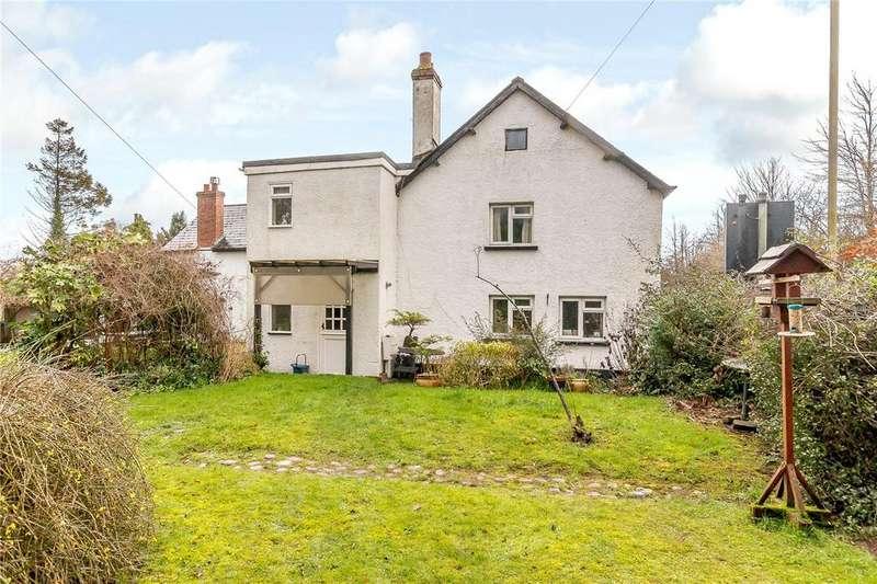 4 Bedrooms Semi Detached House for sale in Broadgate Cottages, Newton St. Cyres, Exeter, Devon, EX5