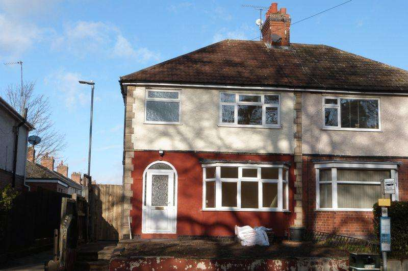 3 Bedrooms Semi Detached House for sale in Station Road, Wigston