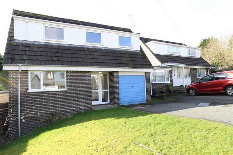 3 Bedrooms Detached House for sale in Bryncastell, Bow Street