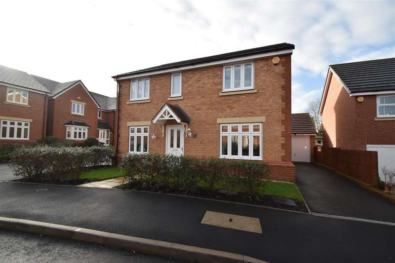 4 Bedrooms Detached House for sale in Cross Furlong, Droitwich Spa