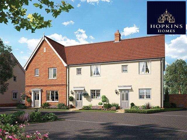 3 Bedrooms End Of Terrace House for sale in Alconbury Weald, Alconbury, Huntingdon, Cambridgeshire, PE28