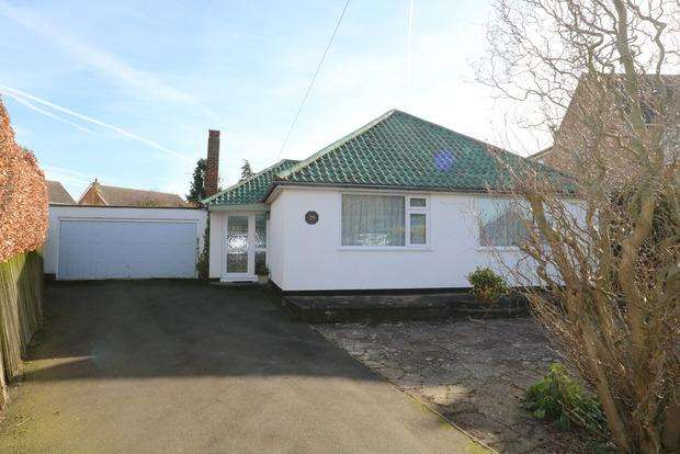 3 Bedrooms Detached Bungalow for sale in Cambridge Avenue, Melton Mowbray, Leicestershire, LE13
