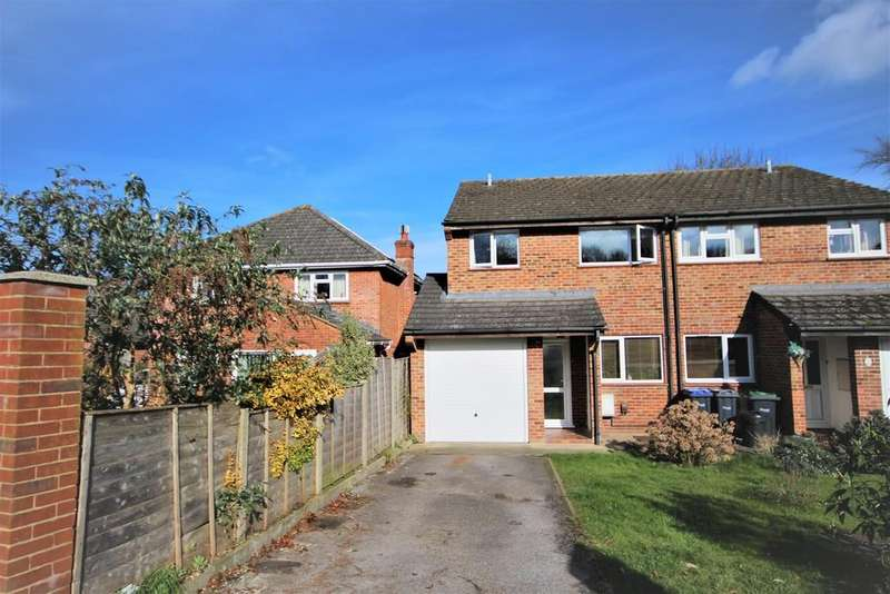 3 Bedrooms Semi Detached House for sale in MILTON ROAD, SALISBURY, WILTSHIRE, SP2 8AX