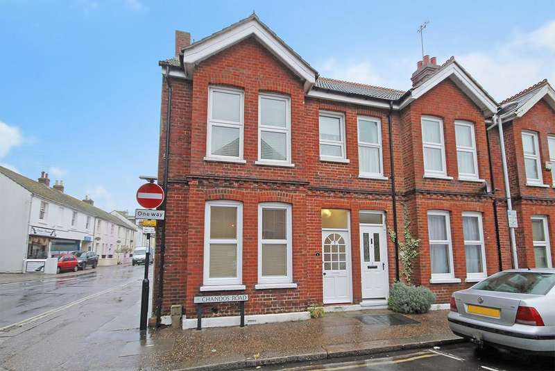 2 Bedrooms Terraced House for sale in Chandos Road, Worthing, West Sussex, BN11 1TJ