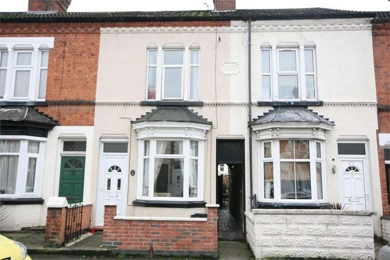 2 Bedrooms Terraced House for rent in Bassett Street, Wigston