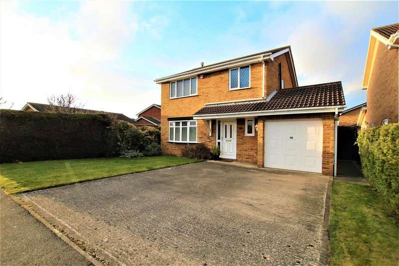 3 Bedrooms Detached House for sale in St. Nicholas Gardens, Yarm