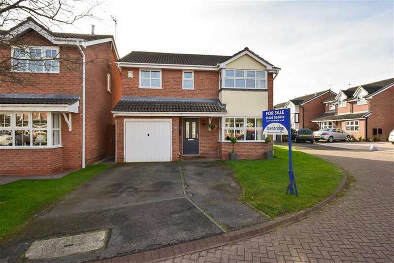 4 Bedrooms Detached House for sale in Nightingale Close