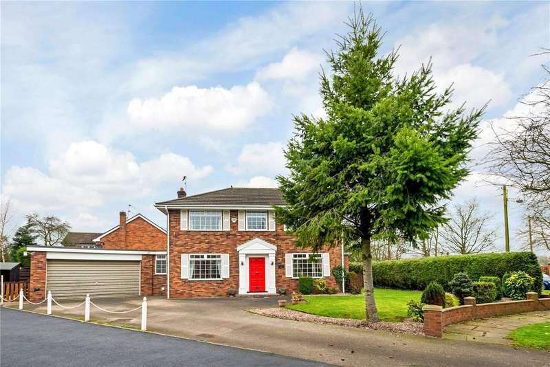 4 Bedrooms Detached House for rent in Newcastle Road South, Brereton, Sandbach, Cheshire, CW11