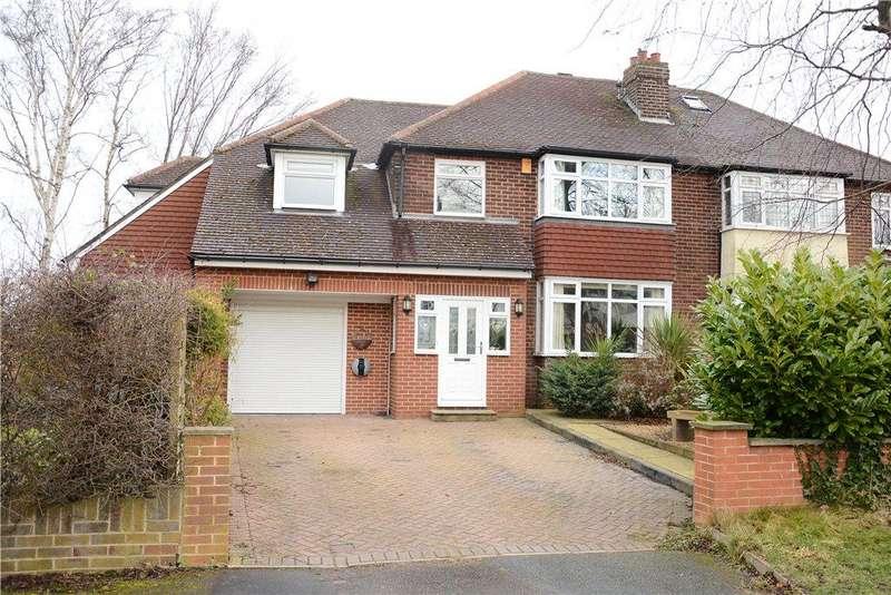 5 Bedrooms Semi Detached House for sale in Moseley Wood Lane, Cookridge, Leeds