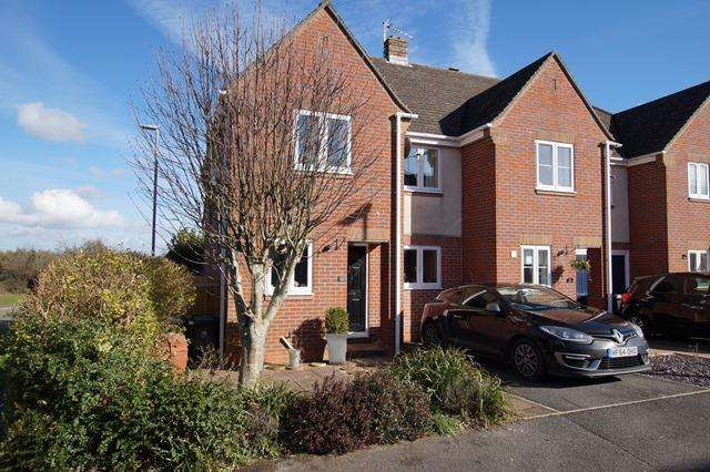 3 Bedrooms Semi Detached House for sale in Southover Close, Blandford St. Mary, Blandford Forum