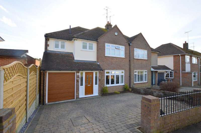 4 Bedrooms Semi Detached House for sale in Bushmead Road, Luton, Beds, LU2 7EX