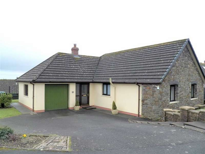 3 Bedrooms Detached Bungalow for sale in West Lane Close, Keeston, Haverfordwest