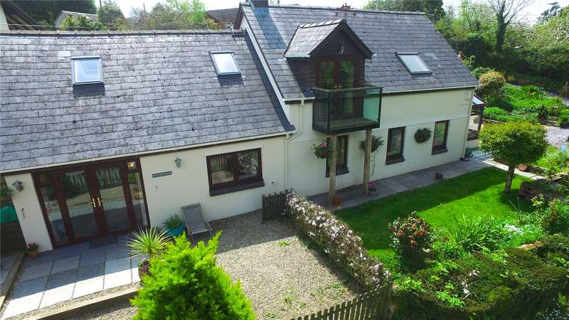 4 Bedrooms Detached House for sale in Ivy Cottage, Landshipping, Narberth, Pembrokeshire