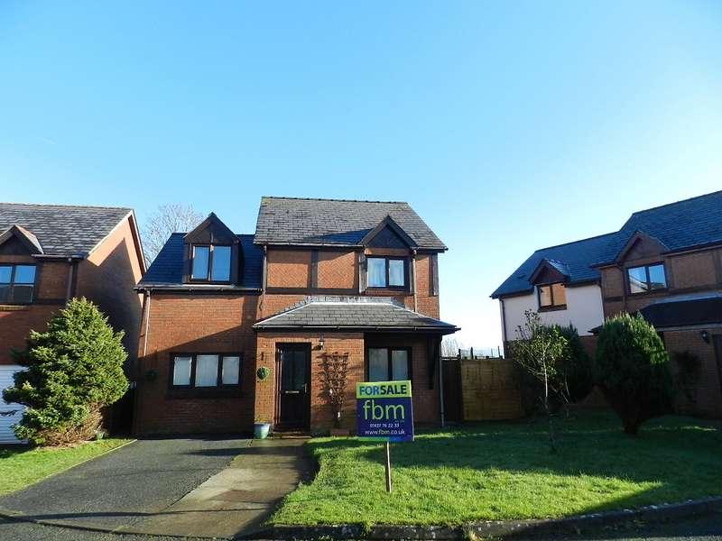 3 Bedrooms Detached House for sale in Tudor Gardens, Merlins Bridge, Haverfordwest