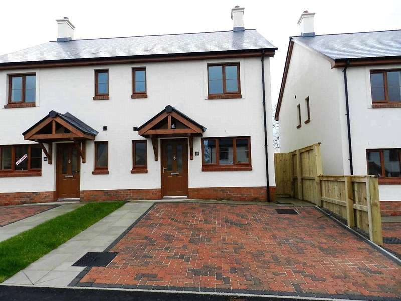 3 Bedrooms Semi Detached House for sale in Plot 16, Phase 2, The Roch, Ashford Park, Crundale