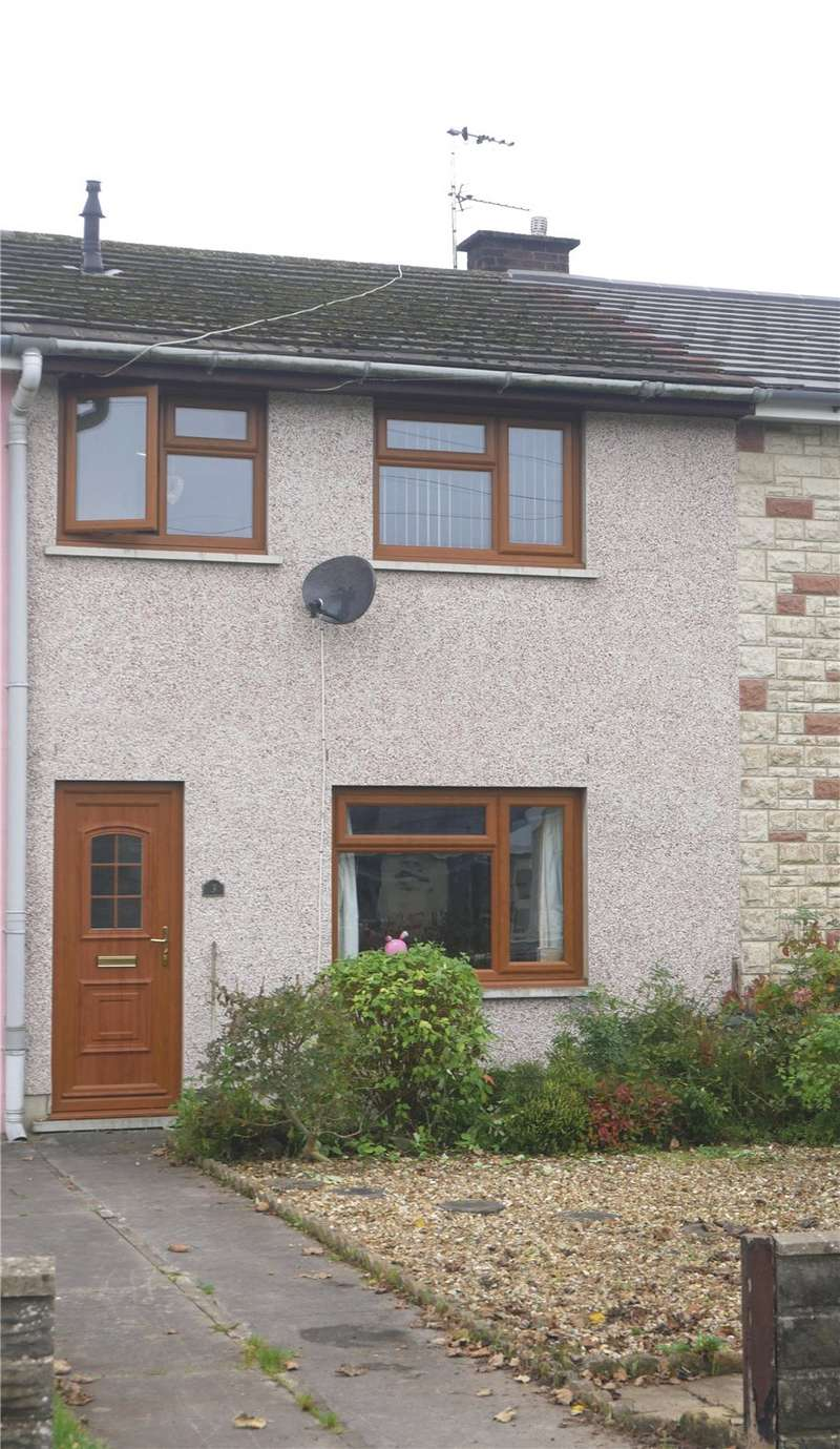 3 Bedrooms Terraced House for sale in Millfield, Whitland, Carmarthenshire