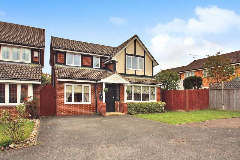 4 Bedrooms Detached House for sale in Kerria Way, West End, Woking, Surrey, GU24