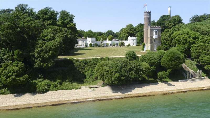 11 Bedrooms House for sale in Stanswood Road, Nr Lepe, Hampshire