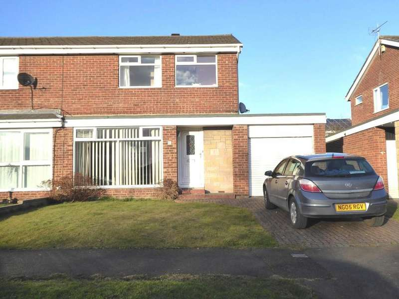 3 Bedrooms Semi Detached House for sale in Tweed Avenue, Ellington, Morpeth