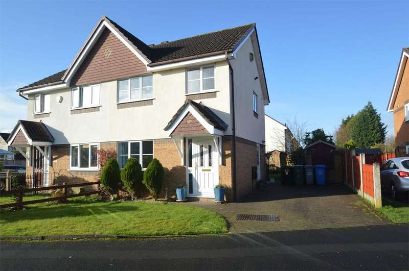 3 Bedrooms Semi Detached House for sale in Marthall Drive, SALE, Cheshire