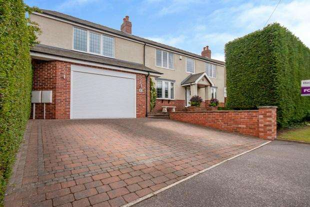 3 Bedrooms Detached House for sale in Jenny Beckett Lane, Mansfield, NG18