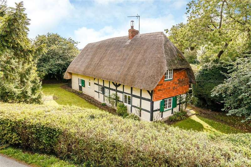 3 Bedrooms Detached House for sale in Church Street, Hurstbourne Tarrant, Andover, Hampshire