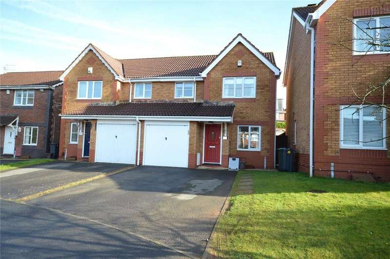 3 Bedrooms Semi Detached House for sale in Hollington Drive, Pontprennau, Cardiff, CF23