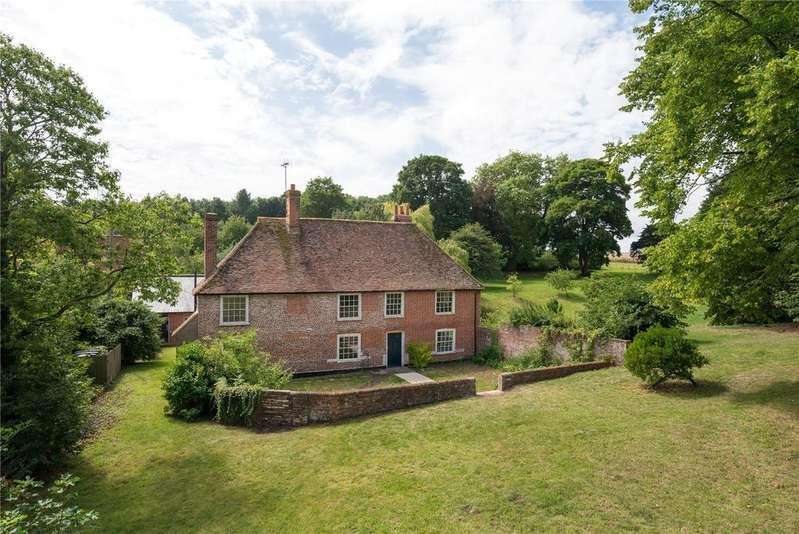 5 Bedrooms Detached House for sale in Ileden Lane, Kingston, Canterbury, Kent