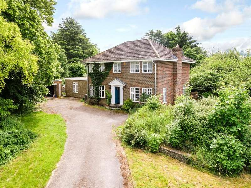 4 Bedrooms Detached House for sale in Wingate Lane, Long Sutton, Hook, Hampshire