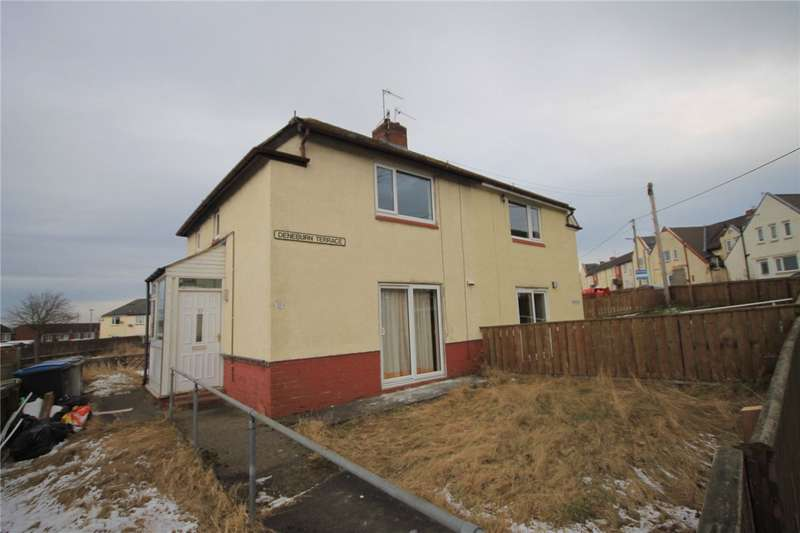 2 Bedrooms Semi Detached House for sale in Deneburn Terrace, The Grove, Consett, DH8