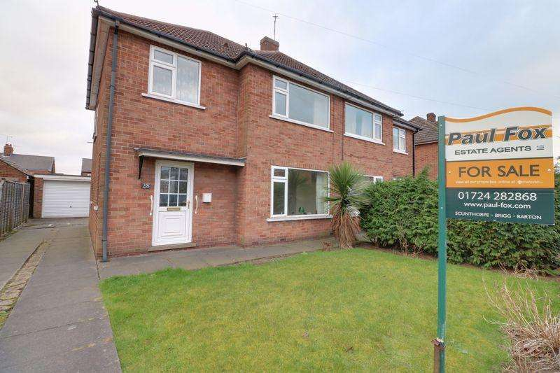 3 Bedrooms Semi Detached House for sale in Westfield Road, Scunthorpe