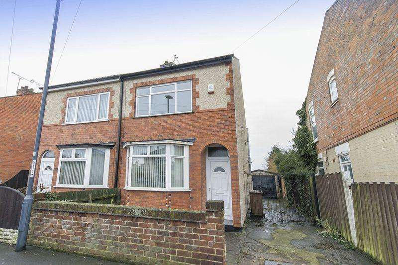 2 Bedrooms Semi Detached House for sale in Bower Street, Derby
