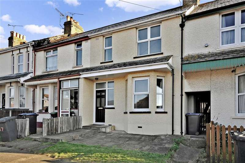 3 Bedrooms Terraced House for sale in West Cliff Gardens, Herne Bay, Kent