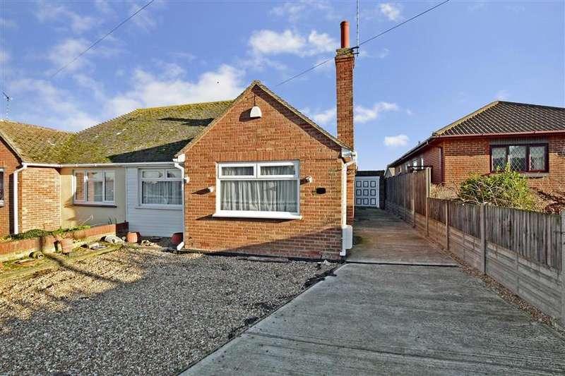 2 Bedrooms Semi Detached Bungalow for sale in Osborne Gardens, Beltinge, Herne Bay, Kent