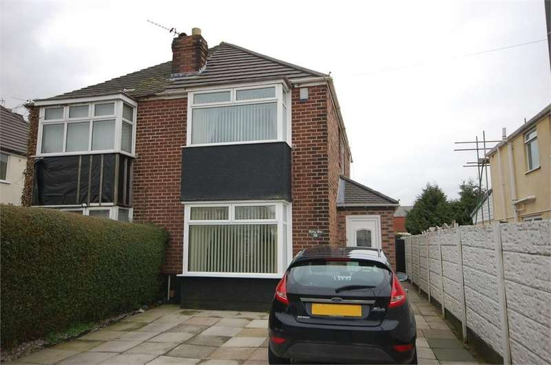3 Bedrooms Semi Detached House for sale in Newlands Road, Haresfinch, St Helens, Merseyside