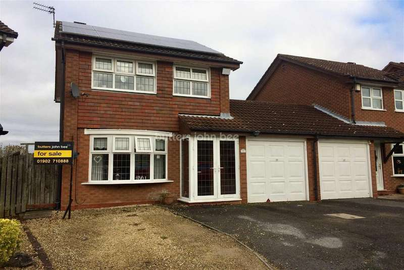 3 Bedrooms Detached House for sale in Gatcombe Close, Old Hall Park. Wolverhampton