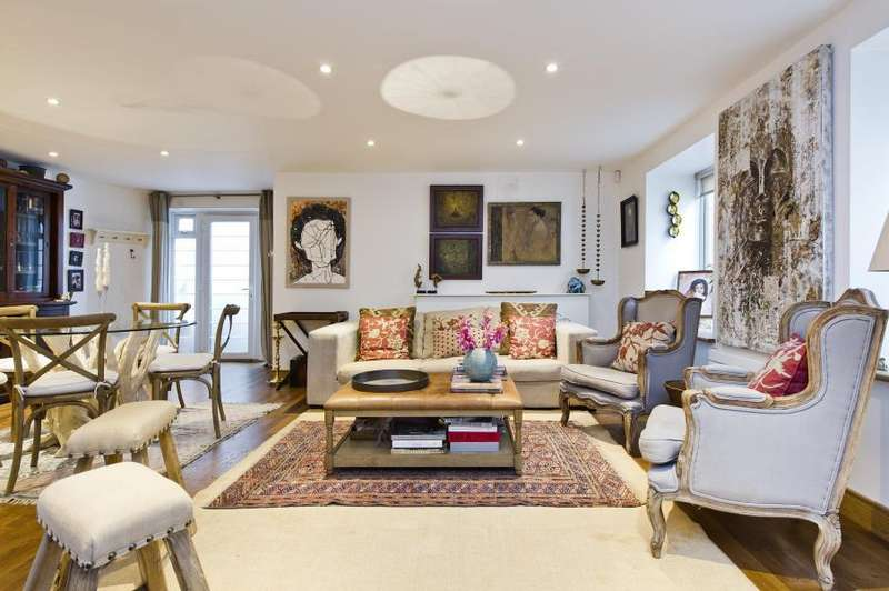 3 Bedrooms Flat for sale in Marlborough Court, Kensington W8