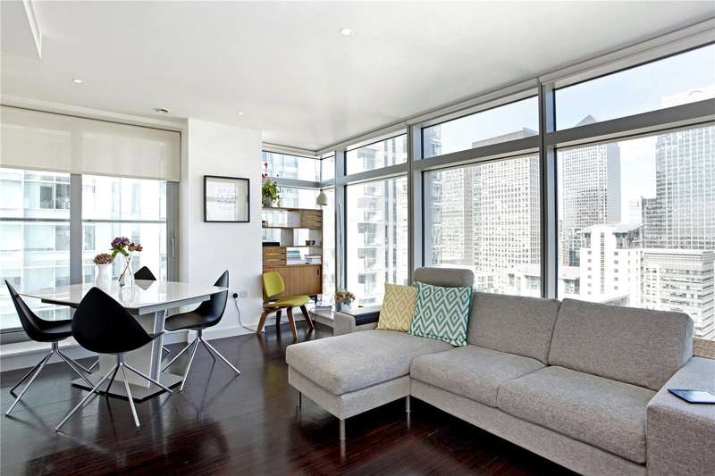 2 Bedrooms Flat for sale in Pan Peninsula Square, London, E14